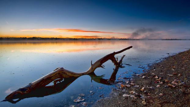 Sunrise waterlog