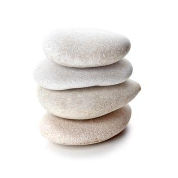 stack of grey stones