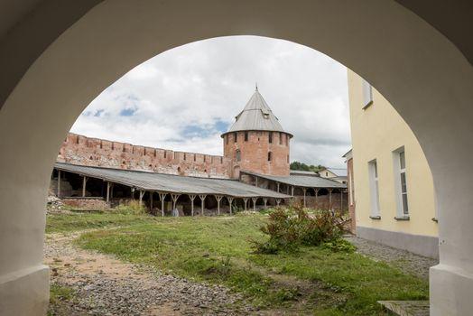 In the Novgorod Kremlin