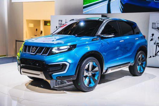 FRANKFURT - SEPT 21: Suzuki iV-4 Concept presented as world prem