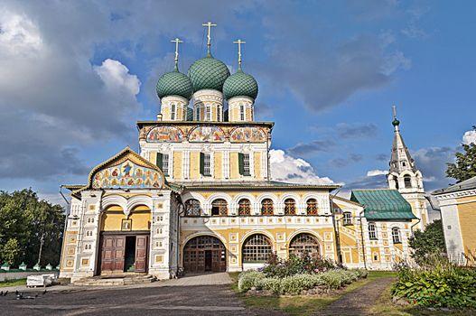 Resurrection Cathedral in Tutaev, Russia