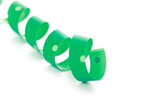 green ribbon serpentine