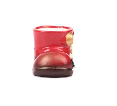 Ceramics boot for gift.