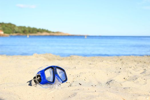 beach, swimming goggles,summer