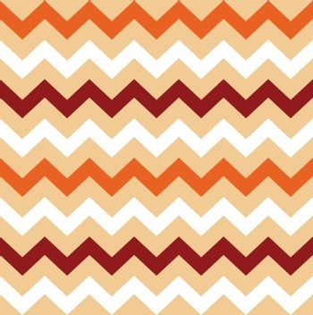 Colorful Chevron pattern for Thanksgiving day. Vector Illustration