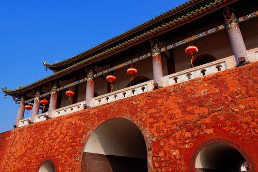 China city gate