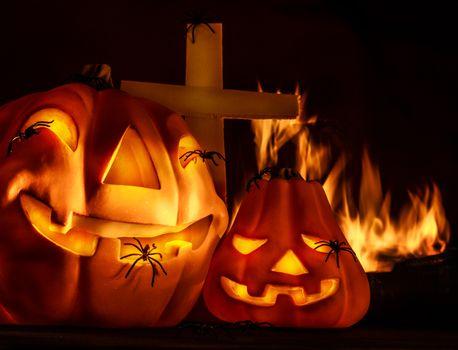 Scary Halloween night