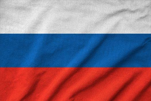 Ruffled Russia Flag