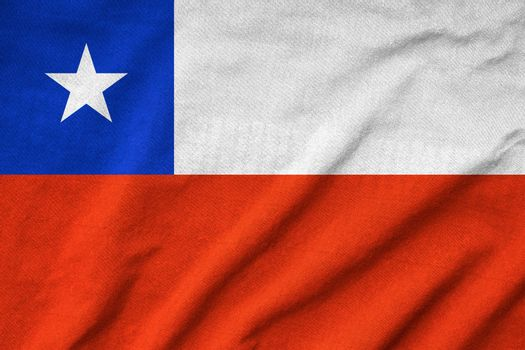 Ruffled Chile Flag