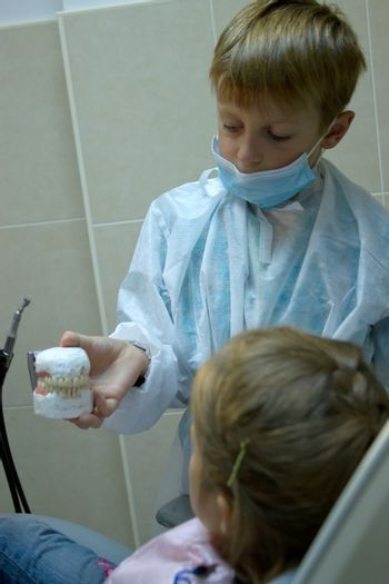 8 years old boy wants to be an orthodontist. Choosing a profession