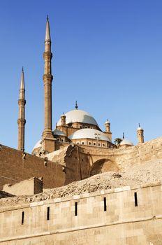 citadel of cairo in egypt