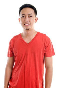 Casual Southeast Asian man
