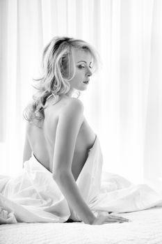 Black-and-white sensuality