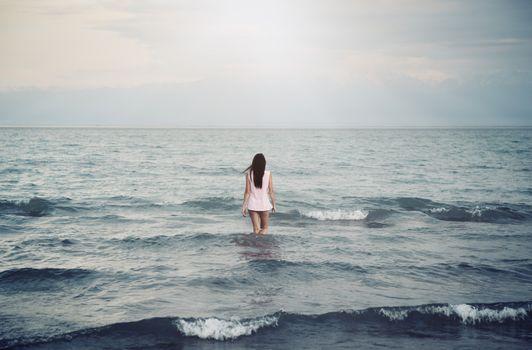 Solitude in sea