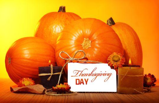 Thanksgiving day decoration