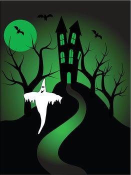 A halloween vector illustration