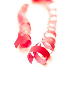 red ribbon serpentine