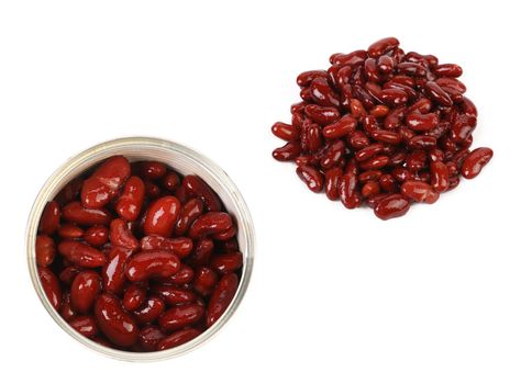 Preserve beans in a bow and separate.
