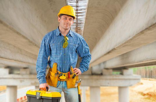 contractor under the bridge