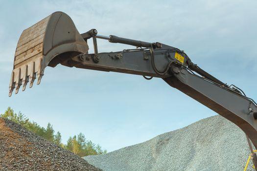 scoop of excavator