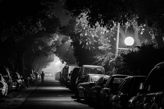 City night and street