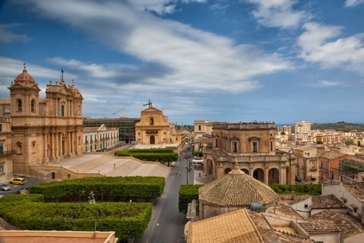 In old town Noto
