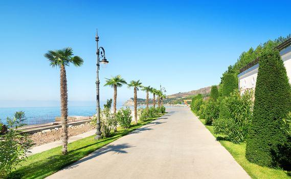 Beautiful promenade