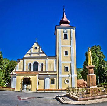 Church in Cucerje , Zagreb suburb