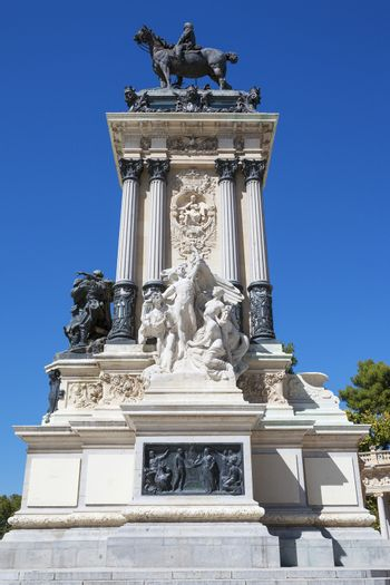 Monument in memory of King Alfonso XII