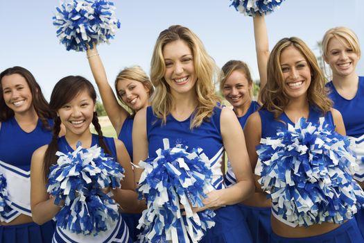 Group of Cheerleaders (portrait)