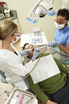 Man At Dental Clinic For Check-Up