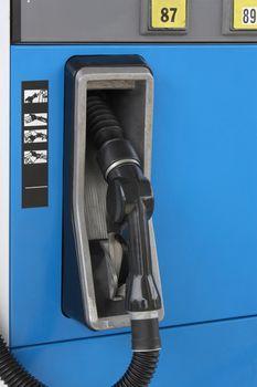 Close-up of a gas pump