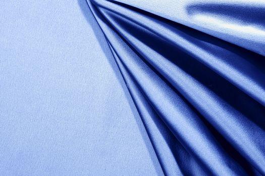 blue satin
