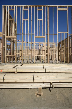 New construction framework for house