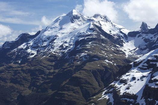 Snow-topped mountain