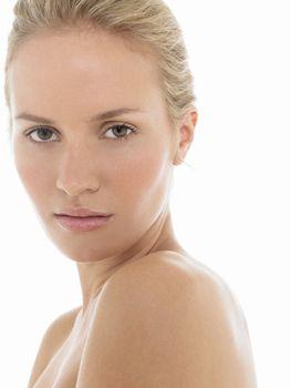 Seductive Young blonde Woman portrait