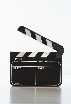 Motion picture clapper board
