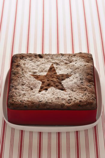 Christmas Cake elevated view