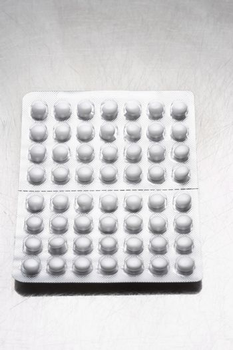 Pills in packaging