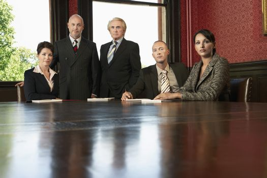 Lawyers in Conference Room