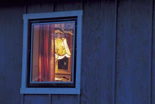 View into Window of Home