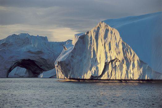 Beautiful huge iceberg