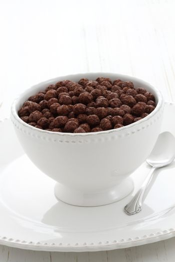 delicious and nutritious whole wheat and oats chocolate cereal, flavorful, funny and healthy addition to kids breakfast