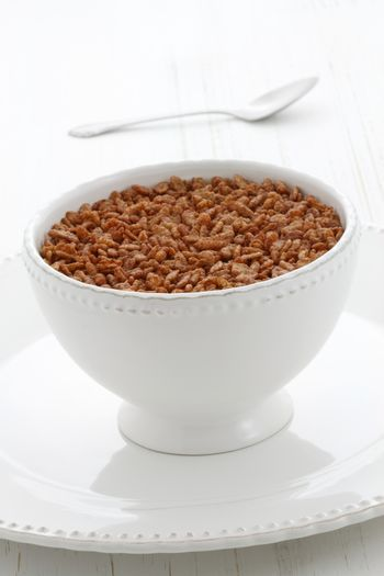 delicious and nutritious toasted or crisped rice chocolate cereal.
