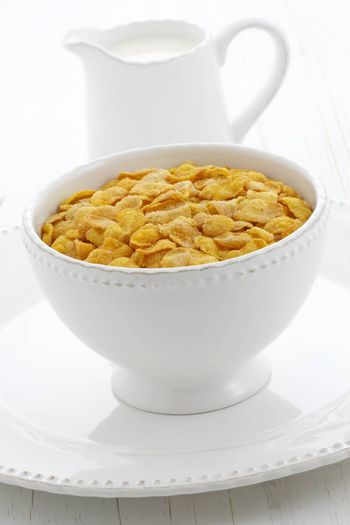 delicious and healthy corn flakes,made  with fresh corn seeds.