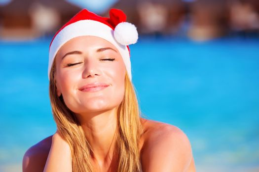 Christmas holidays on exotic country