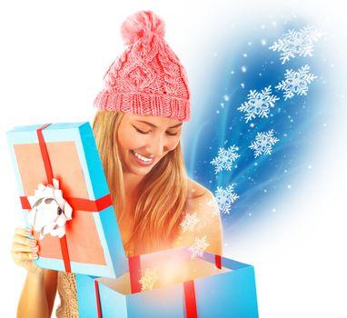 Receive Christmas present