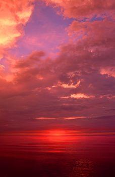 Michigan Upper Peninsula Sunset