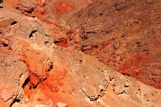 Golden Canyon Rock Walls California