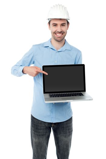 Check out my brand new laptop